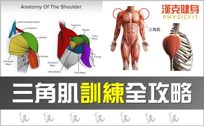 【2021】三角肌全攻略,肩膀練不大、沒感覺?4大秘訣+6個動作,打造立體南瓜肩