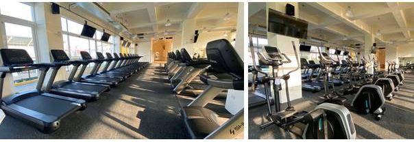 鳳山運動中心健身房 2F有氧器材區