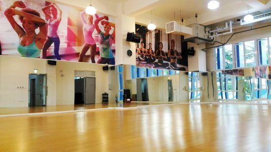 鳳山運動中心健身房 2F.3F有氧團體舞蹈教室