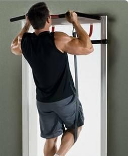 居家徒手背肌訓練-2 引體向上 (整個背部)