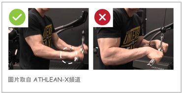 三頭肌訓練-手腕固定