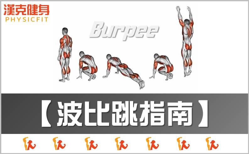 【波比跳|動作指南】聽說會傷膝蓋?這是迷思嗎?燃脂、減肥最佳運動