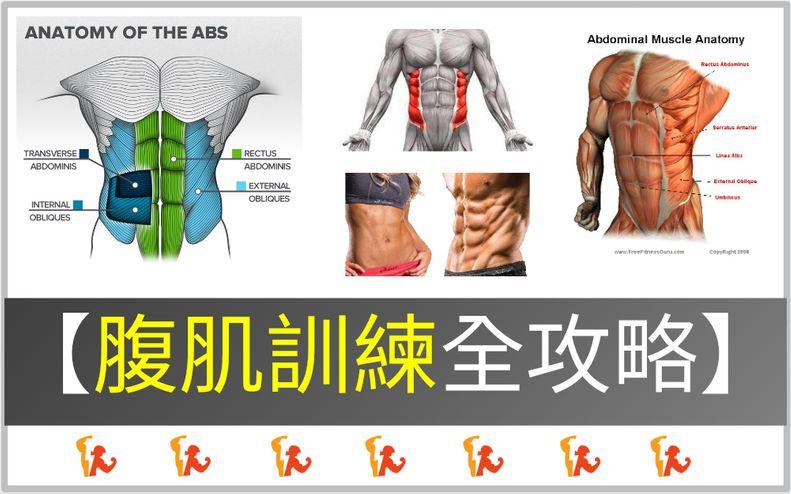 【2021】腹肌訓練全攻略:5大秘訣提升腹肌感受度!男女通用3大腹部訓練動作
