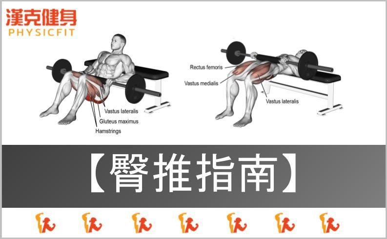 【臀推|動作指南】你做對了嗎?還是其實在練腰、練腿?蜜桃臀、翹臀養成!