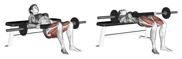 什麼是臀推?可以練到哪些肌群?