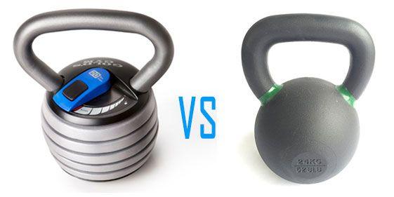 可調式壺鈴 vs 傳統壺鈴 (優缺點比較)