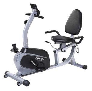 健身房有氧器材 臥式腳踏車
