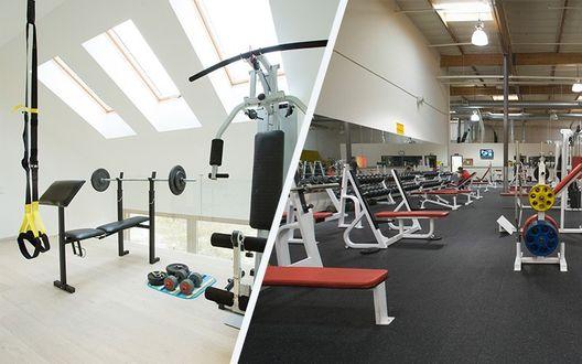 居家健身房 vs 健身房,哪一個花費高?
